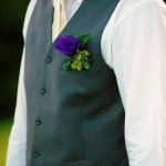 Wedding flowers buttonhole