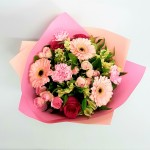delightyfully pink bouquet