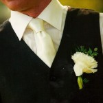 Wedding flowers buttonhole