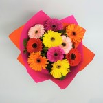 gerbera delight bouquet