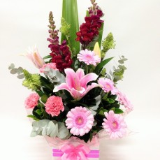 Mother's Day flowers, pink