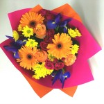 bright and bubbly bouquet
