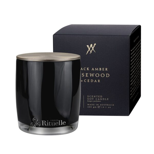 Black-Amber-Candle
